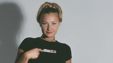 Whigfield alias Sannie Charlotte Carlson 1994 - Foto: Getty Images