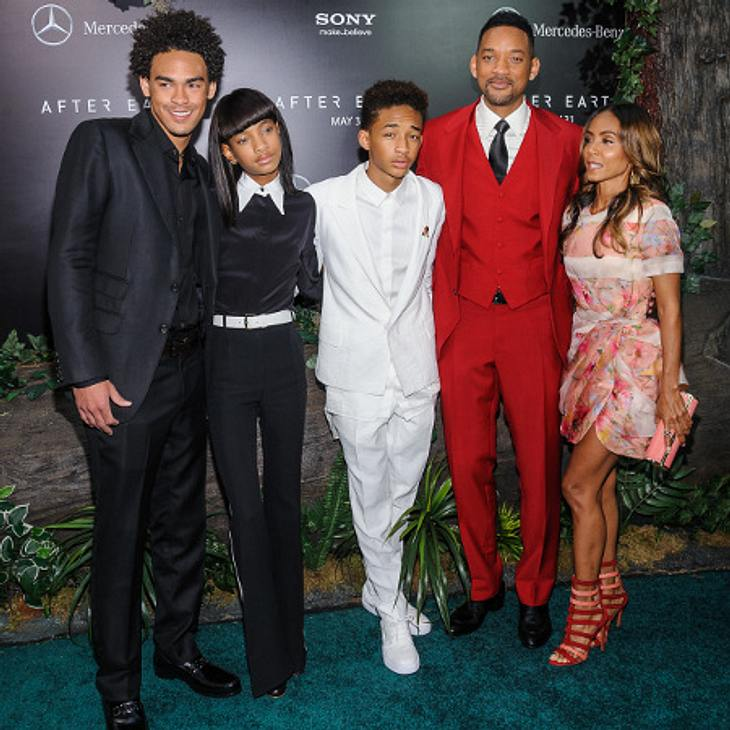 Willow Smith mit seiner Familie
