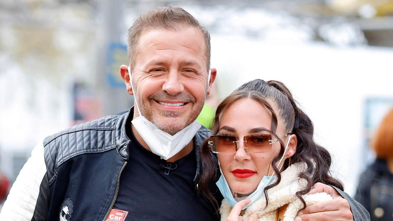 Willi Herren und Tochter Alessia