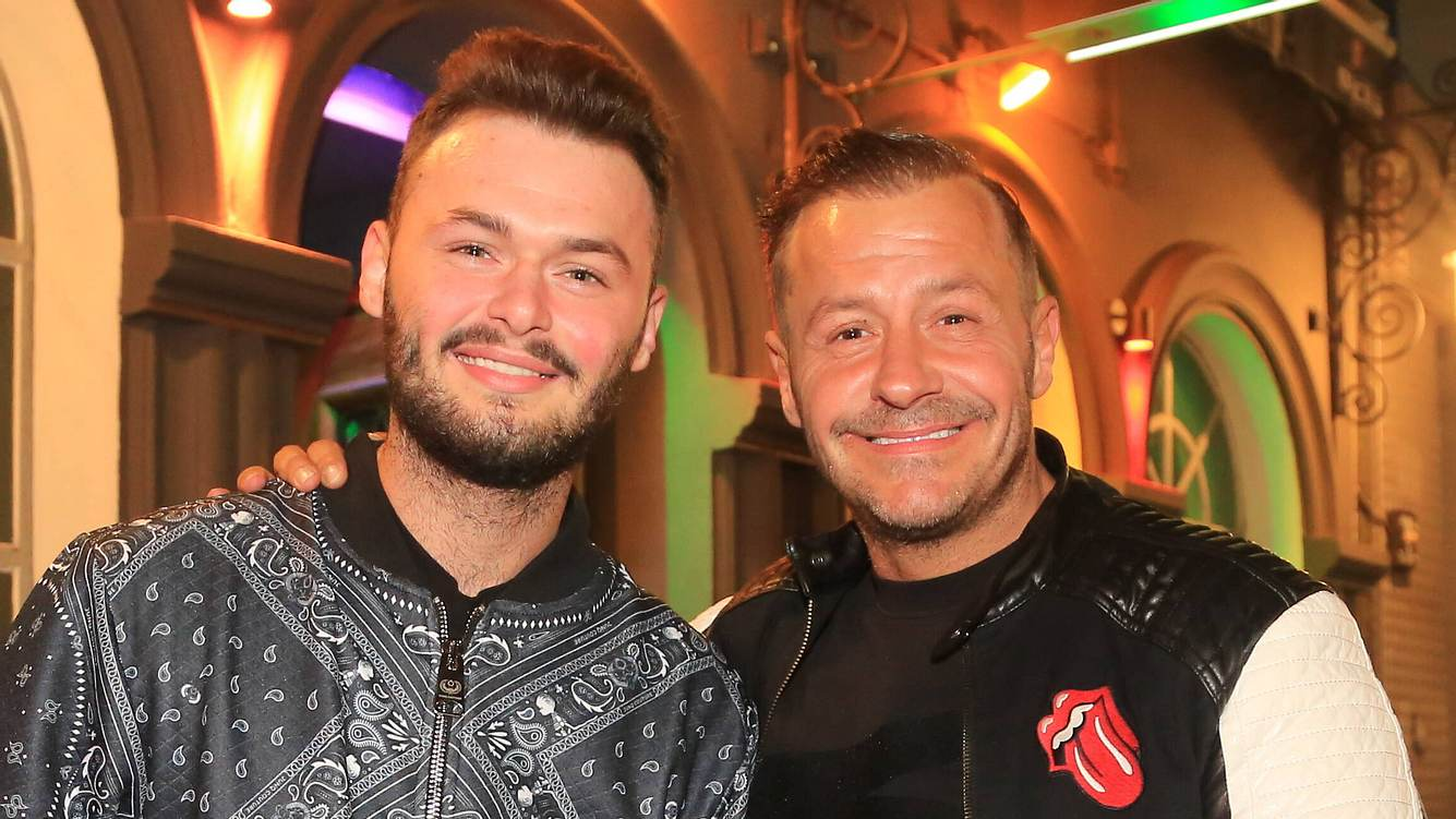 Willi Herren und Sohn Stefano