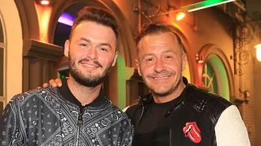 Willi Herren und Sohn Stefano - Foto: imago