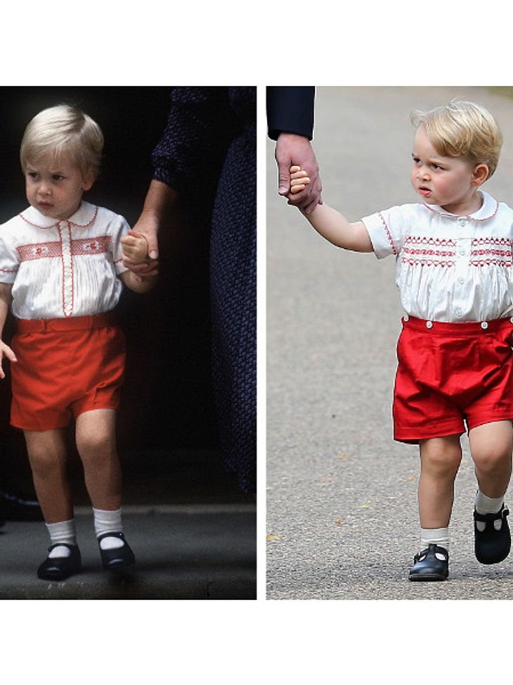 Prinz William und Prinz George im Zwillings-Look.