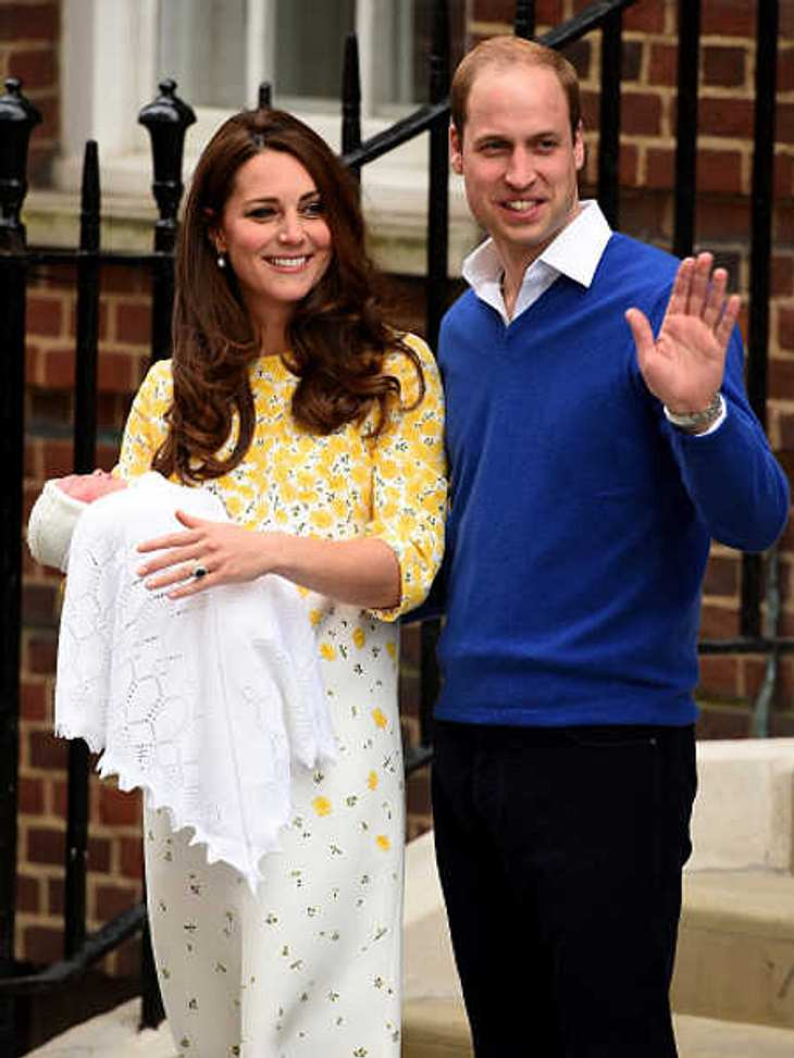 William & Kate: Erster Auftritt mit der kleinen Prinzessin