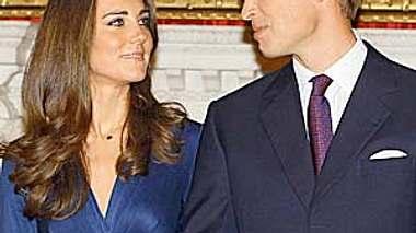 Romantisches Geschenk für Prinz William