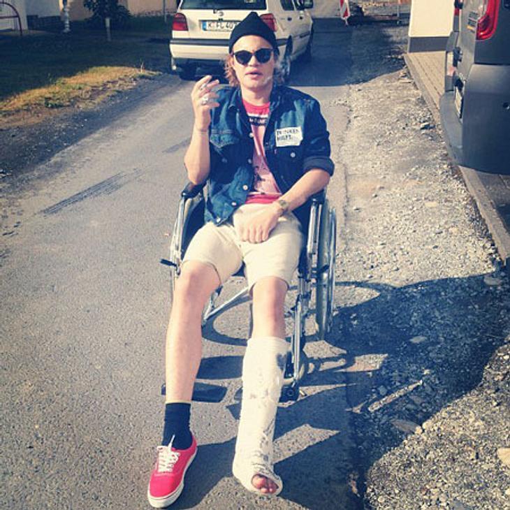 Wilson Gonzalez Ochsenknecht hat sich das Bein gebrochen