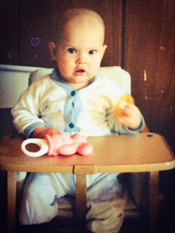 Wilson Gonzalez Ochsenknecht als Baby