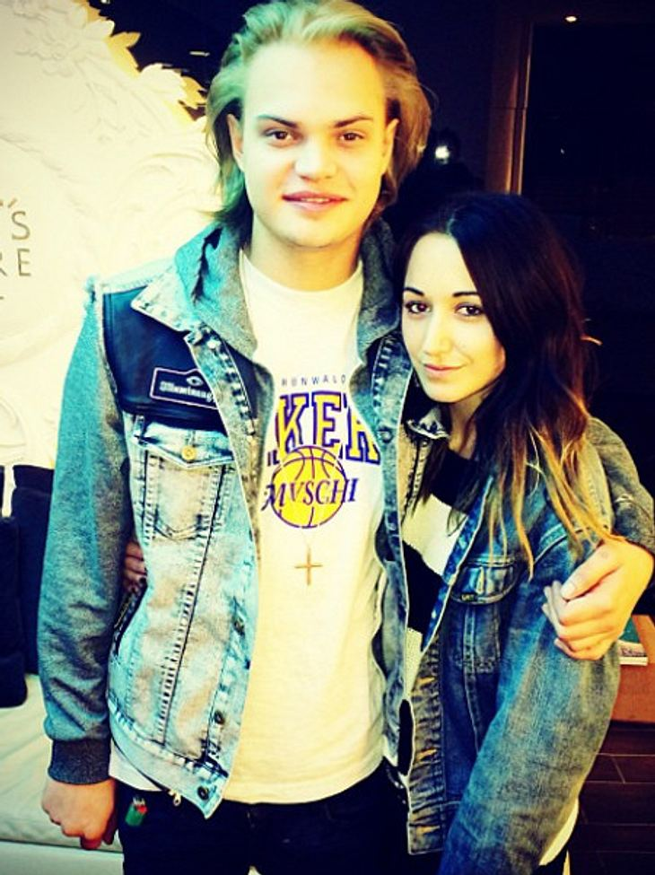 Wilson Gonzalez mit neuer Freundin