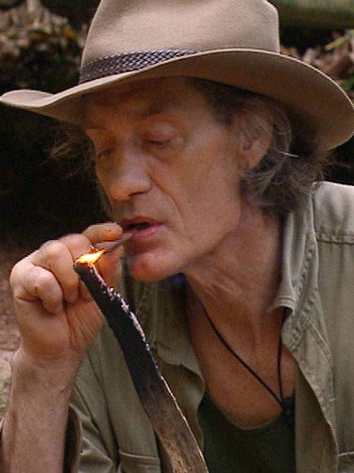 Winfried Glatzeder ist starker Raucher