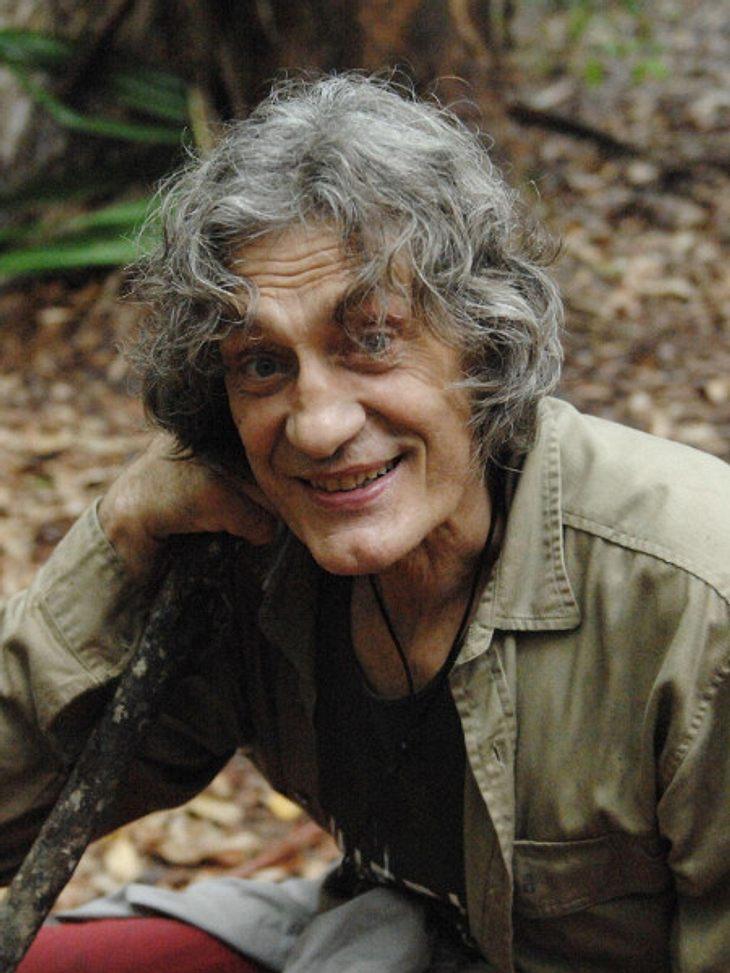 Winfried Glatzeder freute sich über seinen Dschungelcamp-Auszug