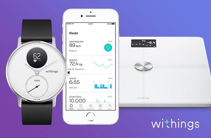 Gewinne eine elegante Smartwatch & WLAN Waage