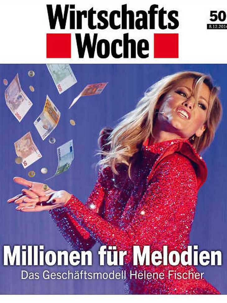 Helene Fischer auf dem Cover der Wirtschaftswoche.