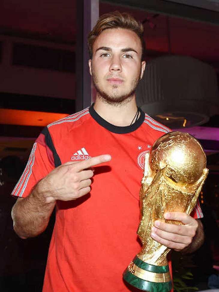 Mario Götze schoss Deutschland zum WM-Sieg.