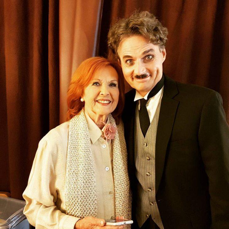 Wolfgang Bahro als Chaplin
