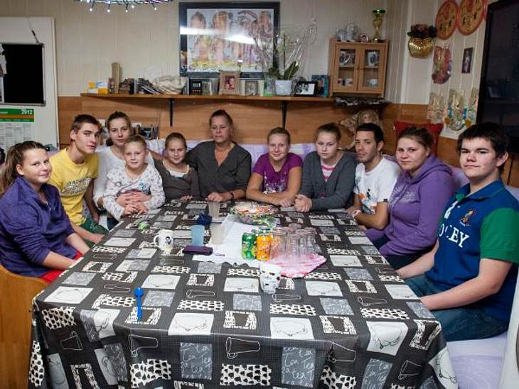 Zu Besuch bei den Wollnys: So leben Silvia und ihre Kinder