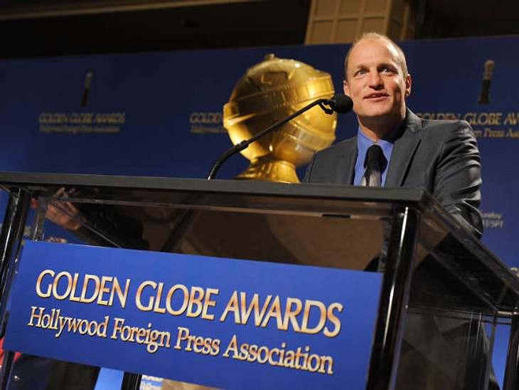 Woody Harrelson gab die Golden Globe-Nominierungen zusammen mit Gerard Butler, Rashida Jones und Sofia Vergara bekannt.