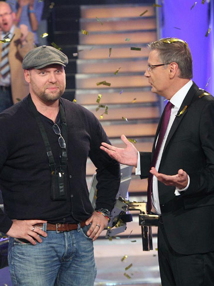 """Thorsten Fischer ist der neunte Millionengewinnern bei """"Wer wird Millionär?"""""""