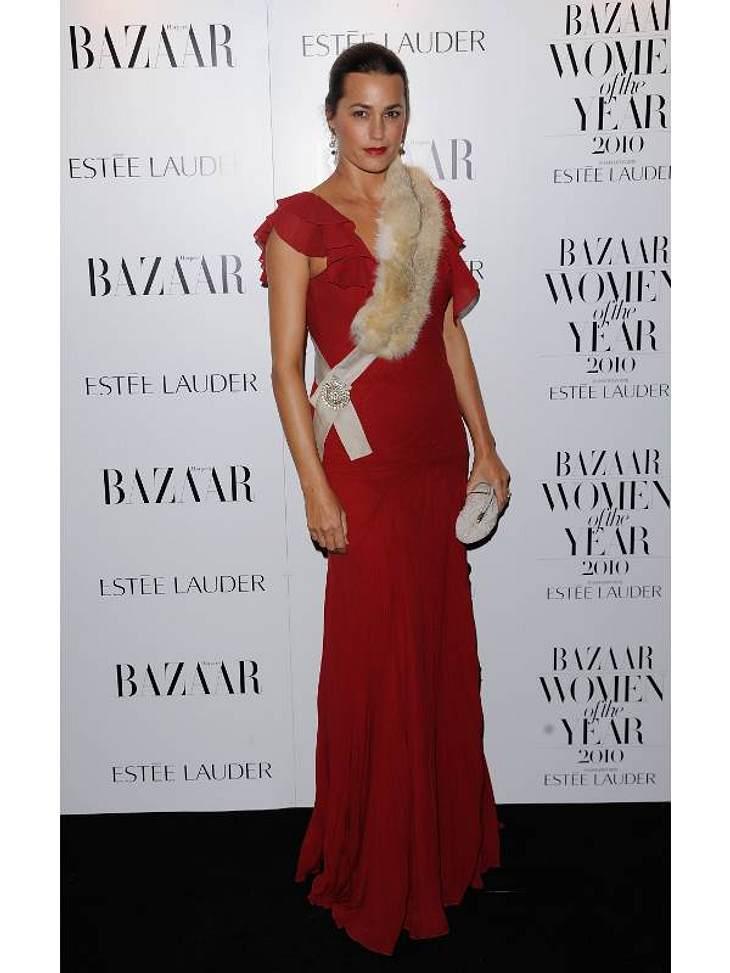 """Model Yasmin Le Bon ergatterte 2010 den dritten Platz im """"Best Dressed""""-Ranking. Die Ehefrau von Duran-Duran-Sänger Simon Le Bon erschien in den späten 80ern auf dem Cover der ersten amerikanischen und britischen """"Elle""""."""
