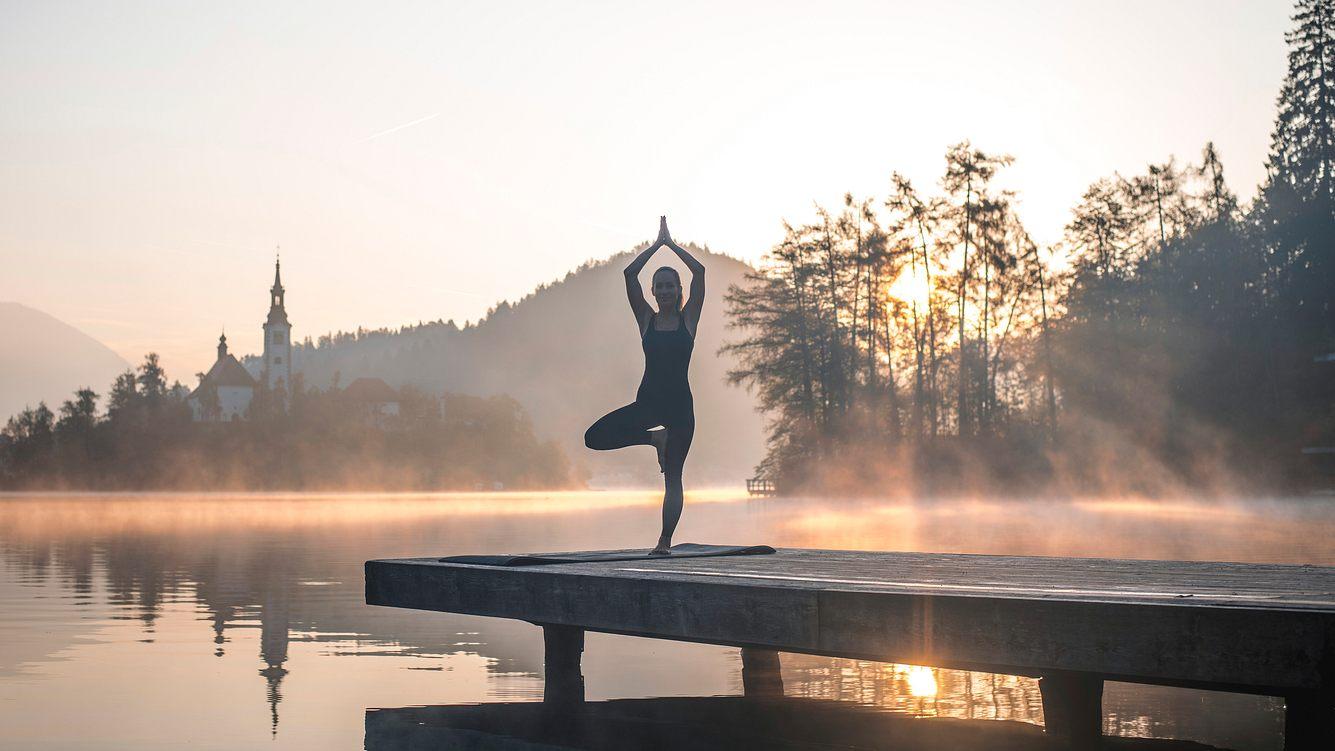 Yoga Pose Der Baum
