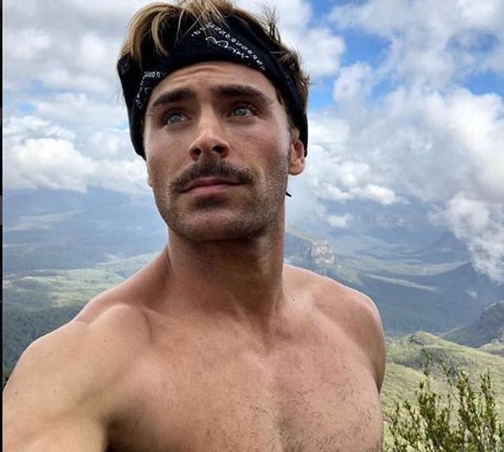 Zac Efron: Seine neue Frisur spaltet die Gemüter