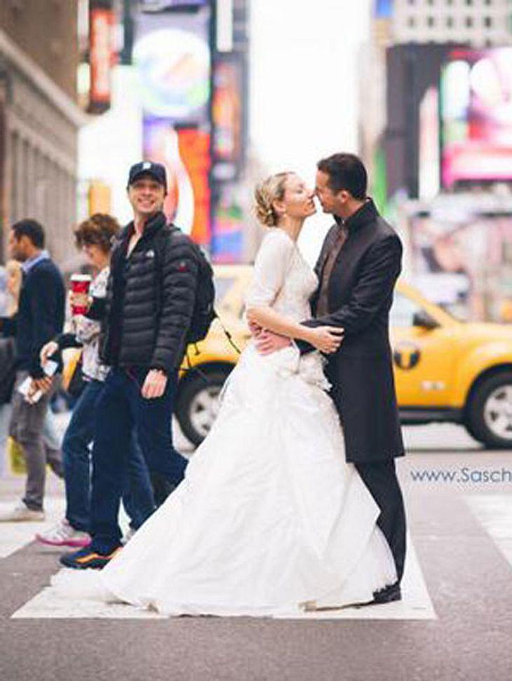 Zac Braff crasht das Hochzeitsfoto