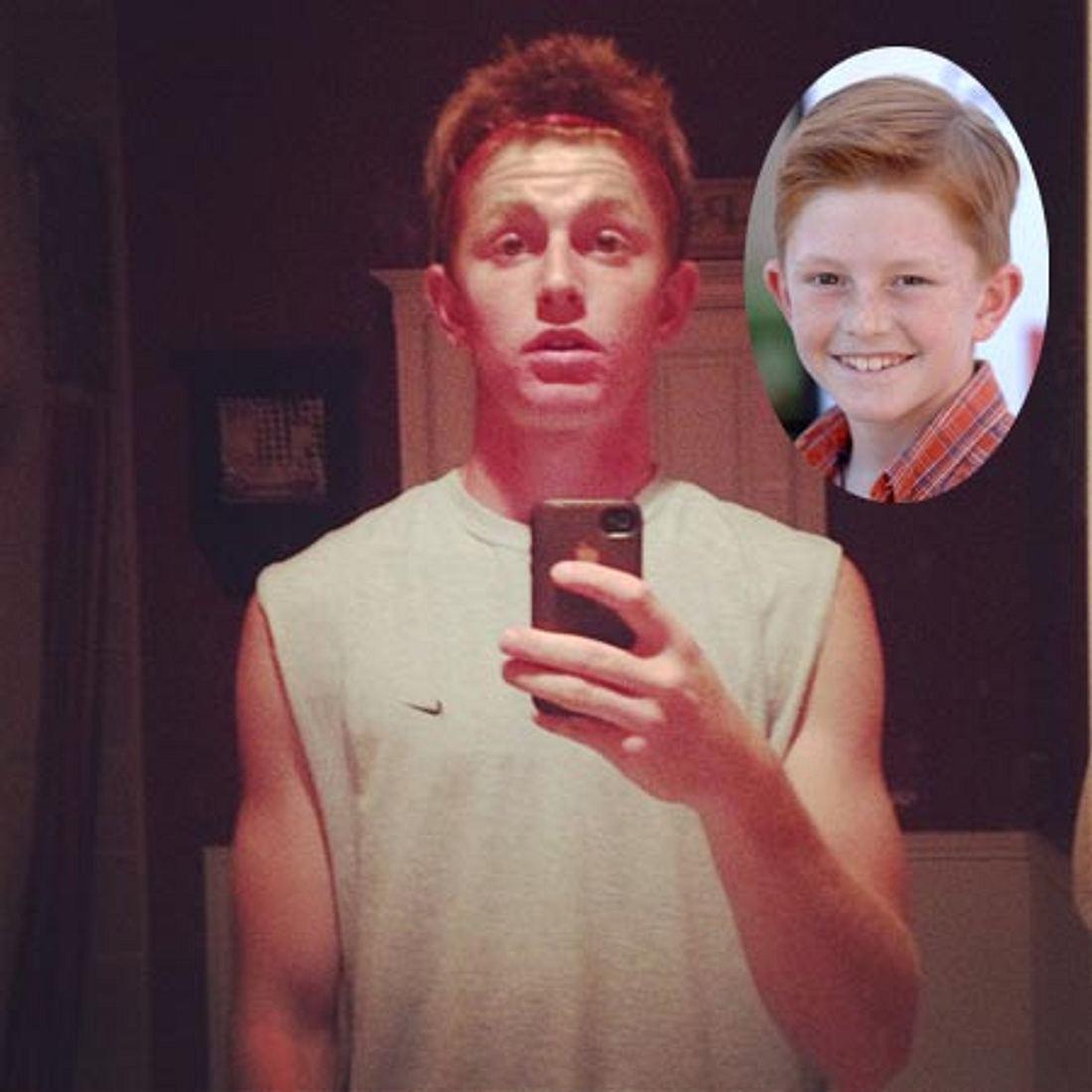 Zane Huett ist erwachsen geworden