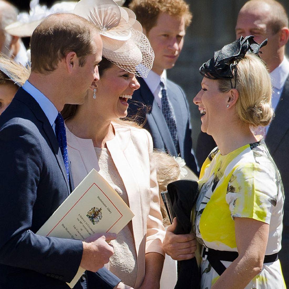 Verplappert: Das Baby von Zara Phillips ist da!