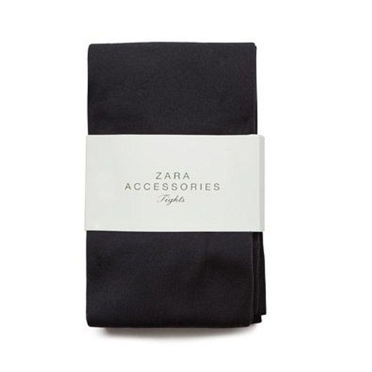 Klau den Look von Blake LivelyBlickdichte Strumpfhose von Zara, um 12,95 Euro