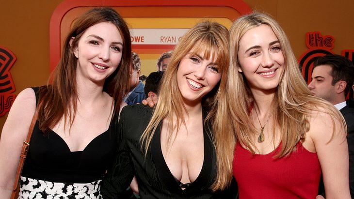 Vanessa,Yvonne und Madeline Zima bei einer Filmpremiere 2016