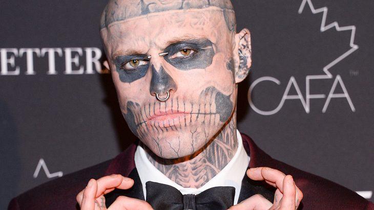 Zombie Boy: Model Rick Genest stirbt mit nur 32 Jahren!
