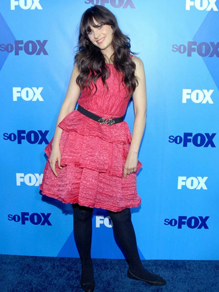 Star-Style: Mädchenhaft wie Zooey DeschanelGestatten, Zooey Deschanel alias Pretty in Pink.